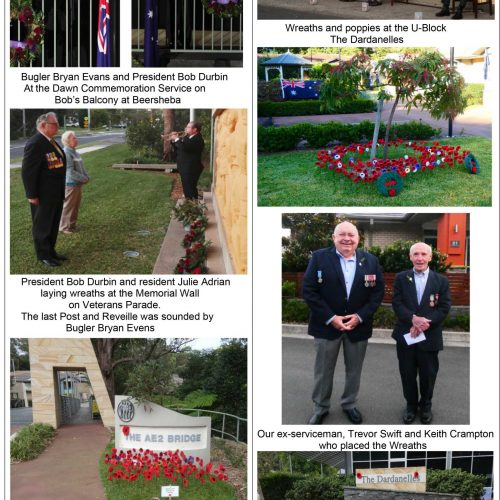 ANZAC Day 25th April 2020